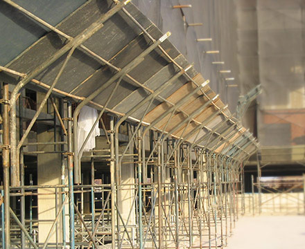Multidirectional Scaffolding-Scaffolding pedestrian protection